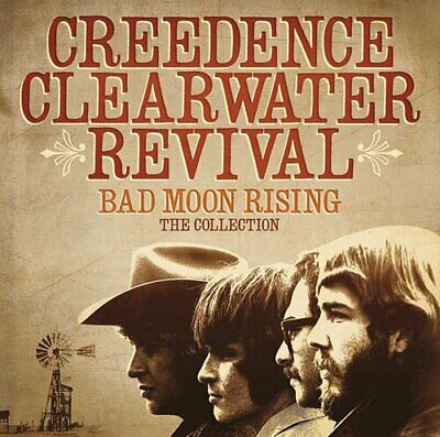 Creedence Clearwater Revival : Bad Moon Rising: The Collection CD (2013)