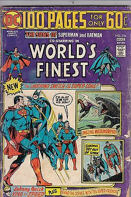 DC Comic! World's Finest! Issue 224!