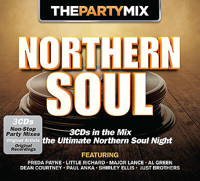 Various Artists [The Party Mix] Northern Soul CD ***NEW***