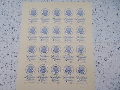 #3930 2005 PRESIDENTIAL LIBRARIES MHN SHEET 20 37 Cent US Postage Stamps Mint