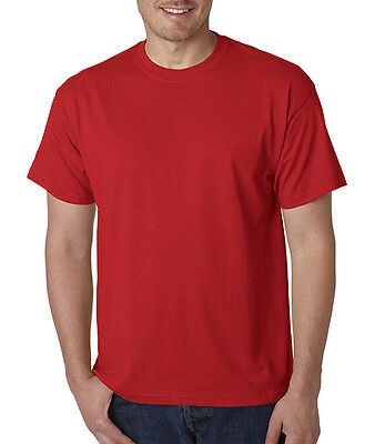Gildan Men's DryBlend 50/50 T-Shirt Plain Solid Color S-5XL All Colors and Sizes