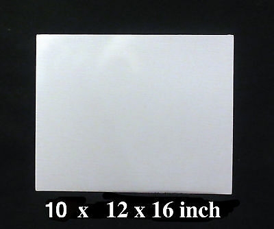 Canvas Panels x 10, 16'x12'  Oil canvas boards  Acrylic canvas boards Acid Free