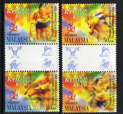 Malaysia 1996 16th Commonwealth Games  MNH