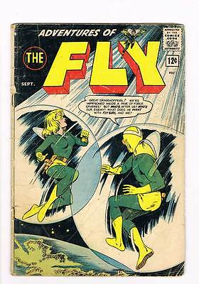 The Fly # 27 The Great Z-17 Mystery ! grade - 2.5 Archie scarce !!