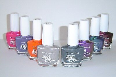 Maybelline Forever Strong Super Stay 7 days gel Nail Color assorted colors