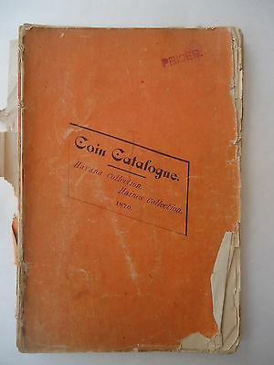 SCARCE 1876 Ancient & Modern Coin Auction Catalogue HAVANA & HAINES Collections