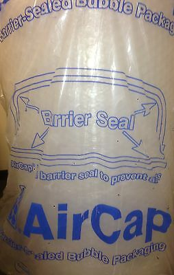 AIRCAP BUBBLE WRAP SMALL BUBBLES 300 500 600 750 mm x 200 m roll FREE 24h DEL -