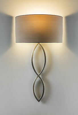 ASTRO Caserta 7372 1 Light Wall Light in Matte Nickel (without shade)