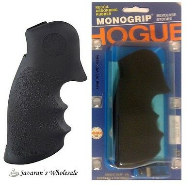 Smith & Wesson S&W K and L Square Frame Butt Rubber Grip by Hogue S10-00