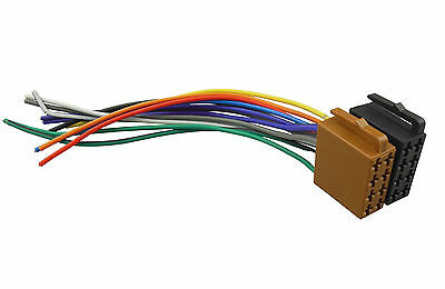 Radio Wire ISO Universal Wiring Harness Stereo Adaptor Connector Plugs Female