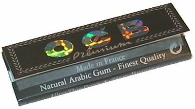 OCB Black Premium Rolling Papers Standard size 50 Sheets/Booklet (1/10/20/50)pcs