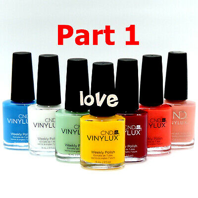 CND Vinylux Weekly Nail Polish Lacquer Matching *Series 1 / Any Color