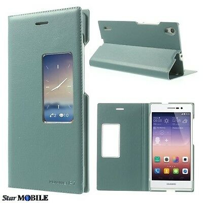 Huawei Ascend P7 S-View Flip Cover Coque Case Etuis Housse