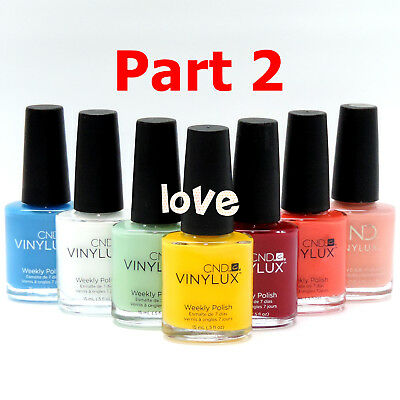 CND Vinylux Weekly Nail Polish Lacquer Matching *Series 2 / Any Color