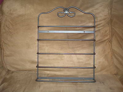 Longaberger Wrought Iron Magazine Wall Rack