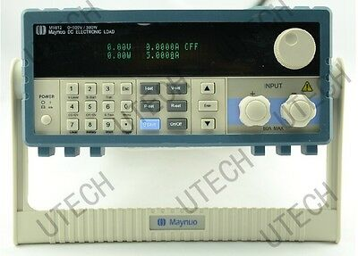 Maynuo M9812 Programmable LED DC Electronic Load 0-150V 0-30A 300W NEW
