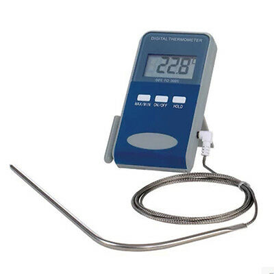 New LCD Digital Probe Cooking Food Water Thermometer Kitchen BBQ Grill Meat Oven