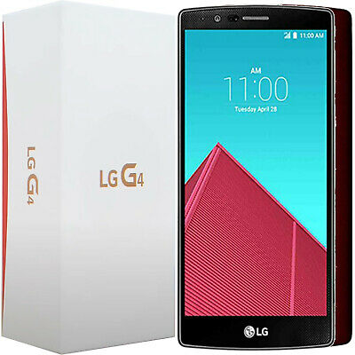Bnib Lg G4 H815 32Gb Red Leather Factory Unlocked 4G/lte 3G 2G Gsm Simfree New