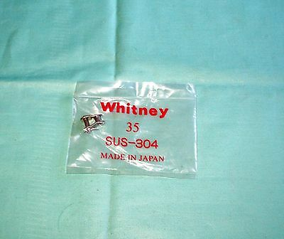 Whitney 35 Stainless Steel Roller Chain Offset Link