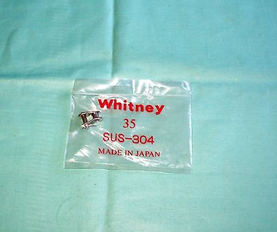 Whitney 35R Stainless Steel Roller Chain Offset Link