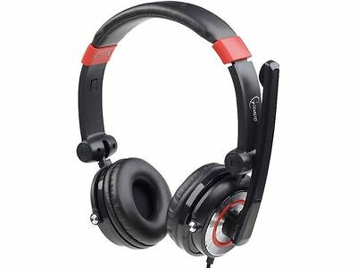 5.1 Gaming Headset Headphone with Microphone for Skype Gembird