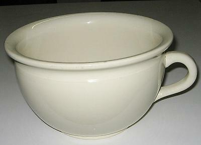 Vintage Fowler Ware Off White Chamber Pot/ Circa 1930's