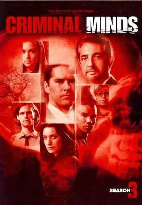 Criminal Minds - The Complete Third Season New Dvd