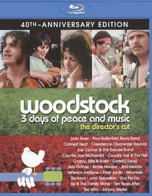 Woodstock: Three Days Of Peace & Music New Blu-Ray