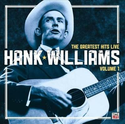 Hank Williams - The Greatest Hits Live, Vol. 1 New Cd