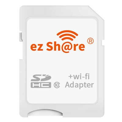 ezshare Wi-Fi Wireless microSD microSDHC to SD SDHC High Speed Card Adapter