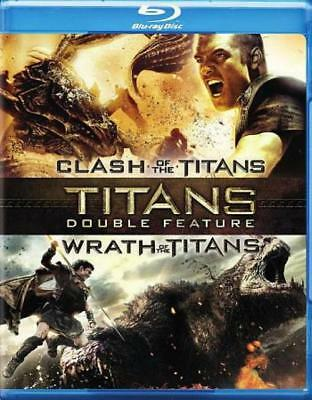 Clash Of The Titans/wrath Of The Titans New Blu-Ray