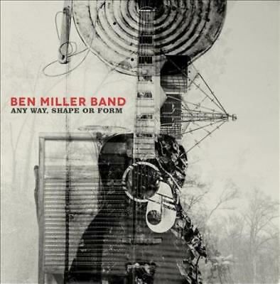 The Ben Miller Band - Any Way, Shape Or Form [Slipcase] New Cd