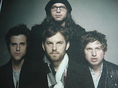 Kings Of Leon - Magazine Cutting (Full Page Photo) (Ref N)