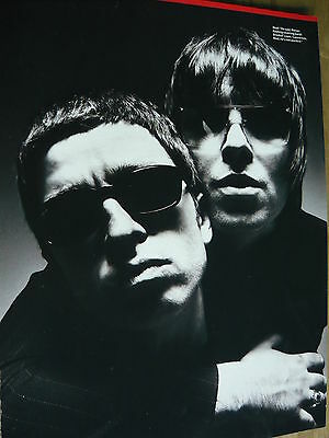 Oasis - Magazine Cutting (Full Page Photo) (Ref K9)