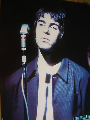 Oasis (Liam) - Magazine Cutting (Full Page Photo) (Ref K6)