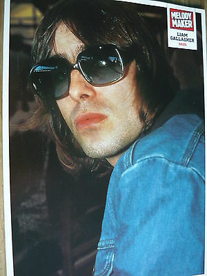 Oasis (Liam) - Magazine Cutting (Full Page Photo) (Ref K11)