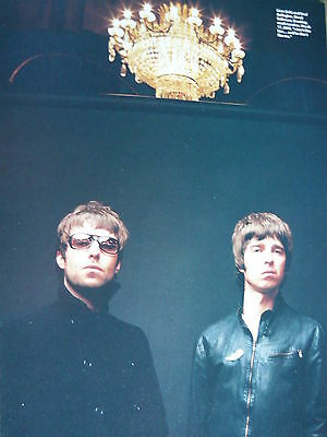 Oasis - Magazine Cutting (Full Page Photo) (Ref K4)