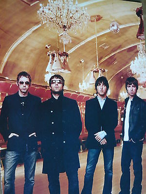 Oasis - Magazine Cutting (Full Page Photo) (Ref K5)