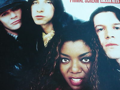 Primal Scream - Magazine Cutting (Full Page Photo) (Ref Lb)
