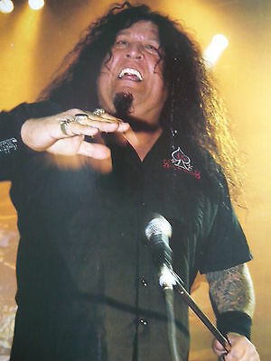 Testament - Magazine Cutting (Full Page Photo) (Ref Na)