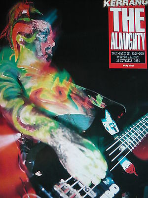 The Almighty - Magazine Cutting (Full Page Photo) (Ref E4)