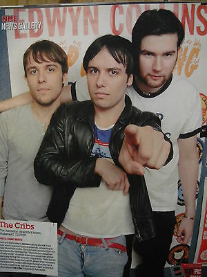 The Cribs - Magazine Cutting (Full Page Photo) (Ref Sa)