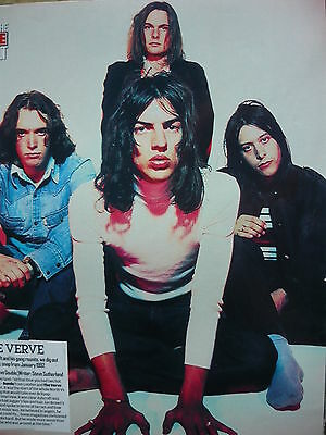 The Verve - Magazine Cutting (Full Page Photo) (Ref N)