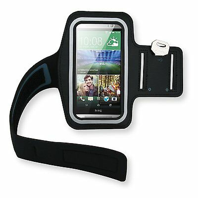 For HTC One M9 M8 Desire 610 Running Jogging Gym Exercise Sports Armband Case