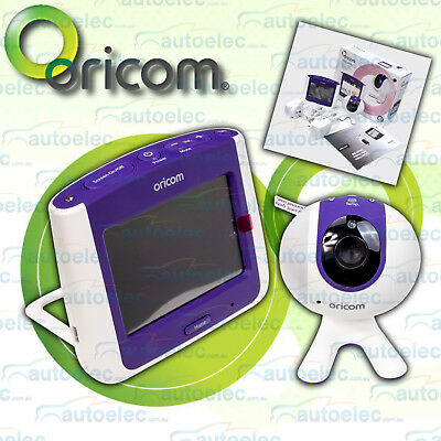 Oricom Touch Screen Video Baby Monitor 2.4Ghz Digital Zoom Sc860 Secure 860