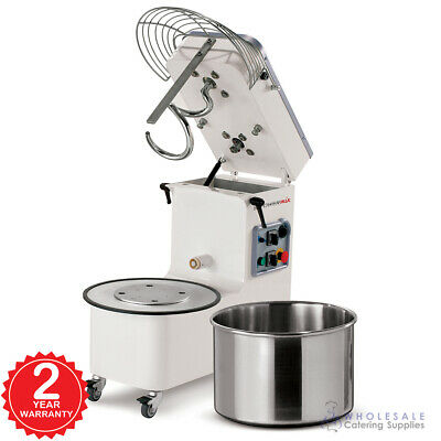 Spiral Mixer 50L Tilting Head Removable Bowl Three Phase Mecnosud Commercial