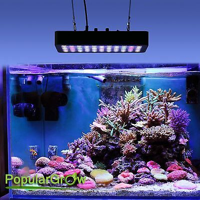 Dimmable 165W LED Aquarium Grow Light Full Spectrum FishTank Reef Coral LPS SPS