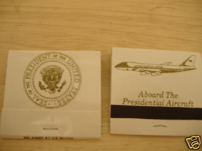 Authentic Air Force One matchbook (lot of 5)- complete & unstruck