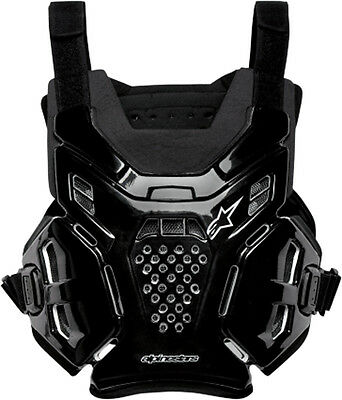 ALPINESTARS A-6 Chest Protector/Roost Guard MX ATV Off-Road (Black) One Size