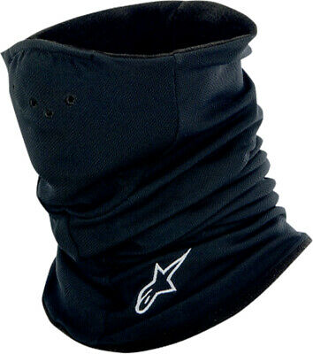ALPINESTARS Genuine Tech Neck Warmer Baselayer (Black, One Size)